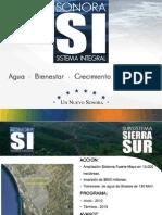 Obras del Proyectos Sonora Si