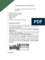 Roteiro de Execução Reforço - CRFC