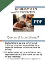 Alcoholismo en Adolescentes