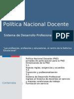 Politica Nacional Docente MINEDUC Final 17-04-15