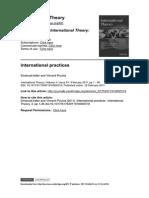 ADLER, Emanuel & POULIOT, Vincent. International Practice