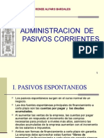 Adminsitracion de Pasivos Corrientes