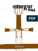 Montsegur 1244 Game Cards