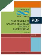 Comite de Calidad, Seguridad y Bioseguridad CSB