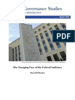The Changing Face of the Federal Judiciary