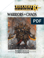 Warhammer Aos Warriors of Chaos En