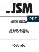 Kubota 1505 Workshop Manual