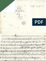 Brussel II 4089 - 6 - Kuhnel - Concerto a Liuto Viola Da Gamba e Basso - C Maj - B