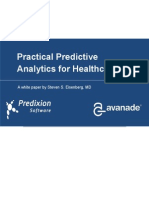 BI White Paper Healthcare Analytics Practical Predictive Analytics 101 May 2013