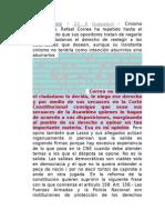 COMENTARIOS - Reelección Indefinida - Democracia - Nebot