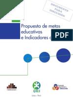 metas educativas 2021 Perú