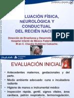 Evaluacion Fisica y Neurologica
