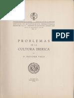 FLETCHER VALLS, D. 1960 - Problemas de La Cultura Ibérica