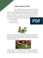 Descripcion Sobre La Teoria de Juegos