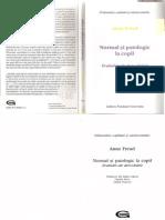 Anna Freud Normal Si Patologic La Copil