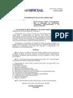 Instrução Normativa Nº 001 de 28 de Janeiro 2008