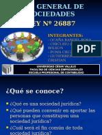 LEY GENERAL DE SOCIEDADES - 26887.ppt