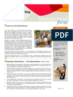 Focus on the Workforce - Sep 2009 E-Newsletter