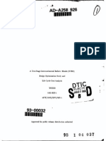ICBM Design Optimization