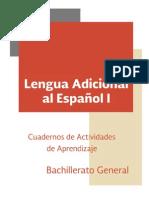 Cuadernos de Aprendizaje de Inglés para Bachillerato General
