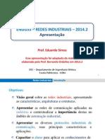 RedesInd 01 Apresentação RedesIndustriais