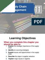 Ch11 Supply Chain Management St