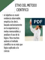 EL OBJETIVO DEL METODO CIENTIFICO.pptx