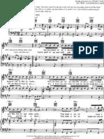 Aerosmith Crazy Piano Sheet