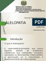 ALELOPATIA - seminário