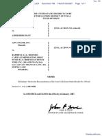 AdvanceMe Inc v. RapidPay LLC - Document No. 199