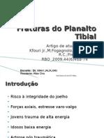 Fraturas Do Planalto Tibial