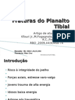 Fraturas Do Planalto Tibial