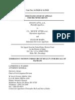 Latter v. Otter - 14 10 08 Emergency Recall Mandate