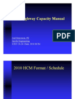 2010 Highway Capacity Manual