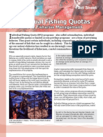 Individual Fishing Quotas