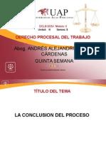 AYUDA 5 - La Conclusion Del Proceso