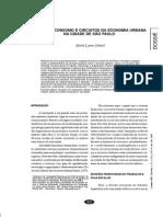 Finanças, Consumo e Circuitos Da Economia Urbana Na Cidade de São Paulo - María Silveira
