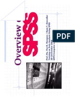 Overview of Spss