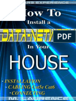 How to Install a Data Network in Your House - Martin Laurence