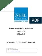 Estadisticas y Econometria