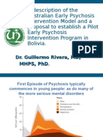 Early Psychosis Intervention Program in Bolivia