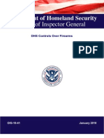 Department of Homeland Security Office of Inspector