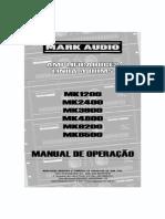 Manual Linha Mk 4ohms