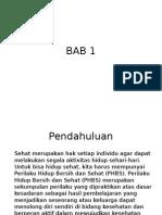 BAB 1 PH (PHBS)
