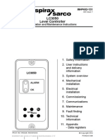 LC3050 Level Controller-Installation Maintenance Manual
