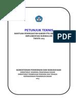 Juknis Implementasi Kurikulum 2013 Ptk Smp