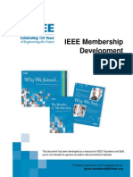 IEEE Membership Development Manual - Sept 07