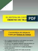 Costeo Pro Ordenes Especificas