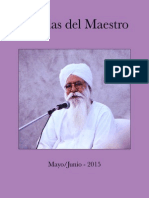 Charlas Del Maestro 2015 MAY JUL