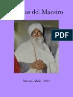 Charlas Del Maestro 2015 MAR ABR